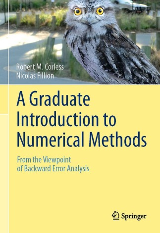 Corless and Fillion's A Graduate Introduction to Numerical