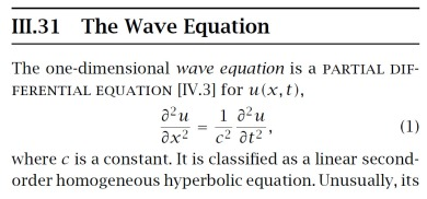 The Most Beautiful Equations in Applied Mathematics
