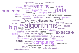 Numerical Algorithms for High-Performance Computational Science: Highlights of the Meeting
